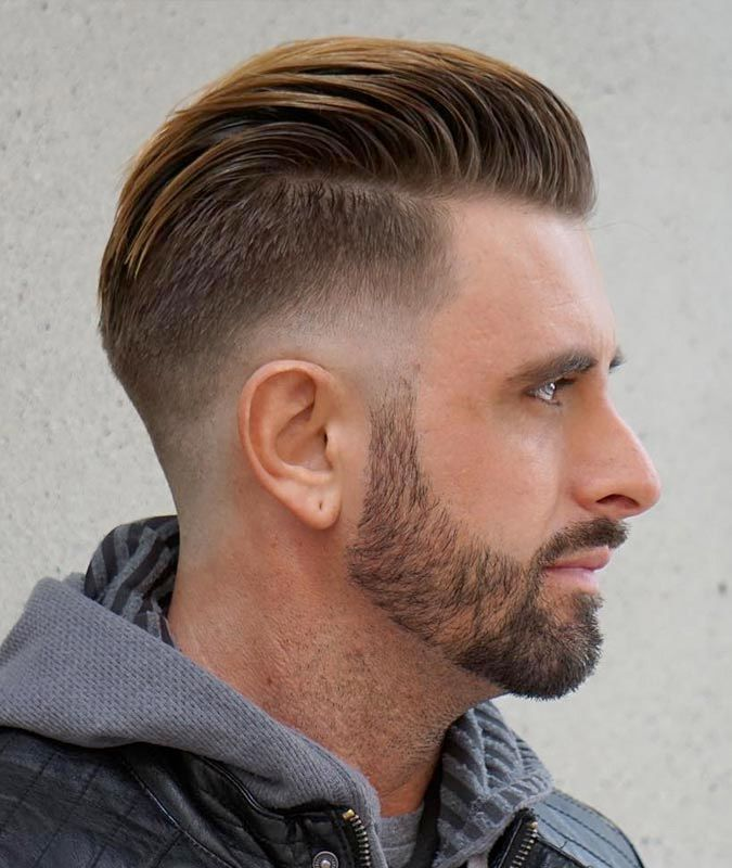 Drop Fade Haircut With Sweep Back Drop Fade Haircuts What They