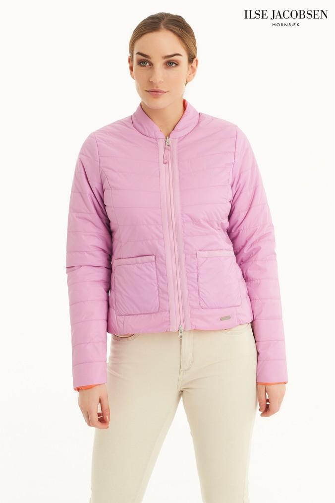 fed9780afb5d8e Womens Ilse Jacobsen Reversible Light Padded Jacket - Pink ...