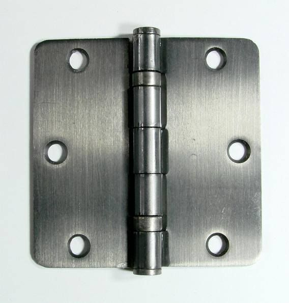 Ball Bearing Interior Door Hinges 3 1 2 Inch With 1 4 Inch Radius Multiple Finishes 2 Pack Interior Door Hinges Hinges Door Hinges