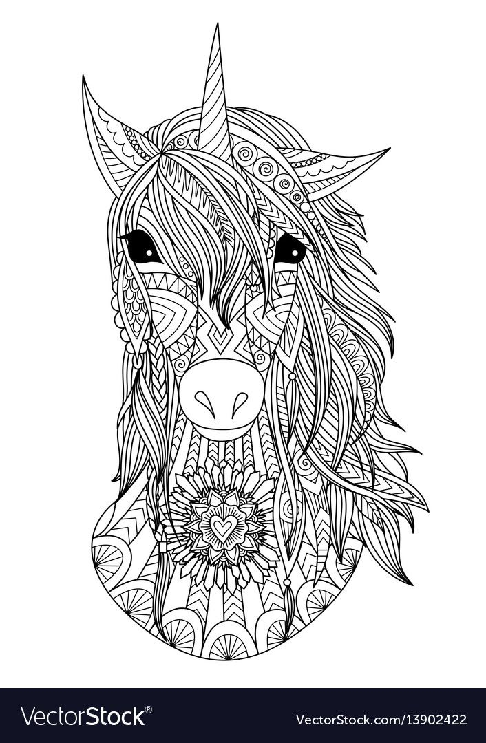 Pin by linda on Coloring pages | Unicorn coloring pages ...