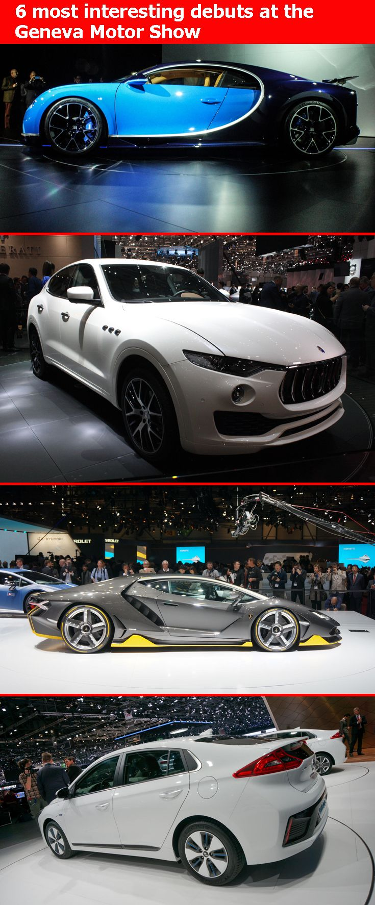These Are The 6 Most Interesting Cars To Come Out Of Geneva Motor Show