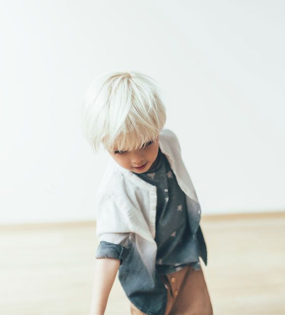 ZARA - NIEUW DEZE WEEK - Tie-dye blouse cortes de cabello para