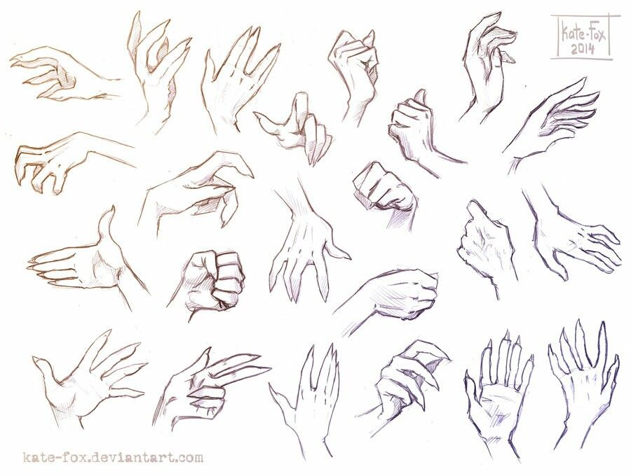 Witch hand reference