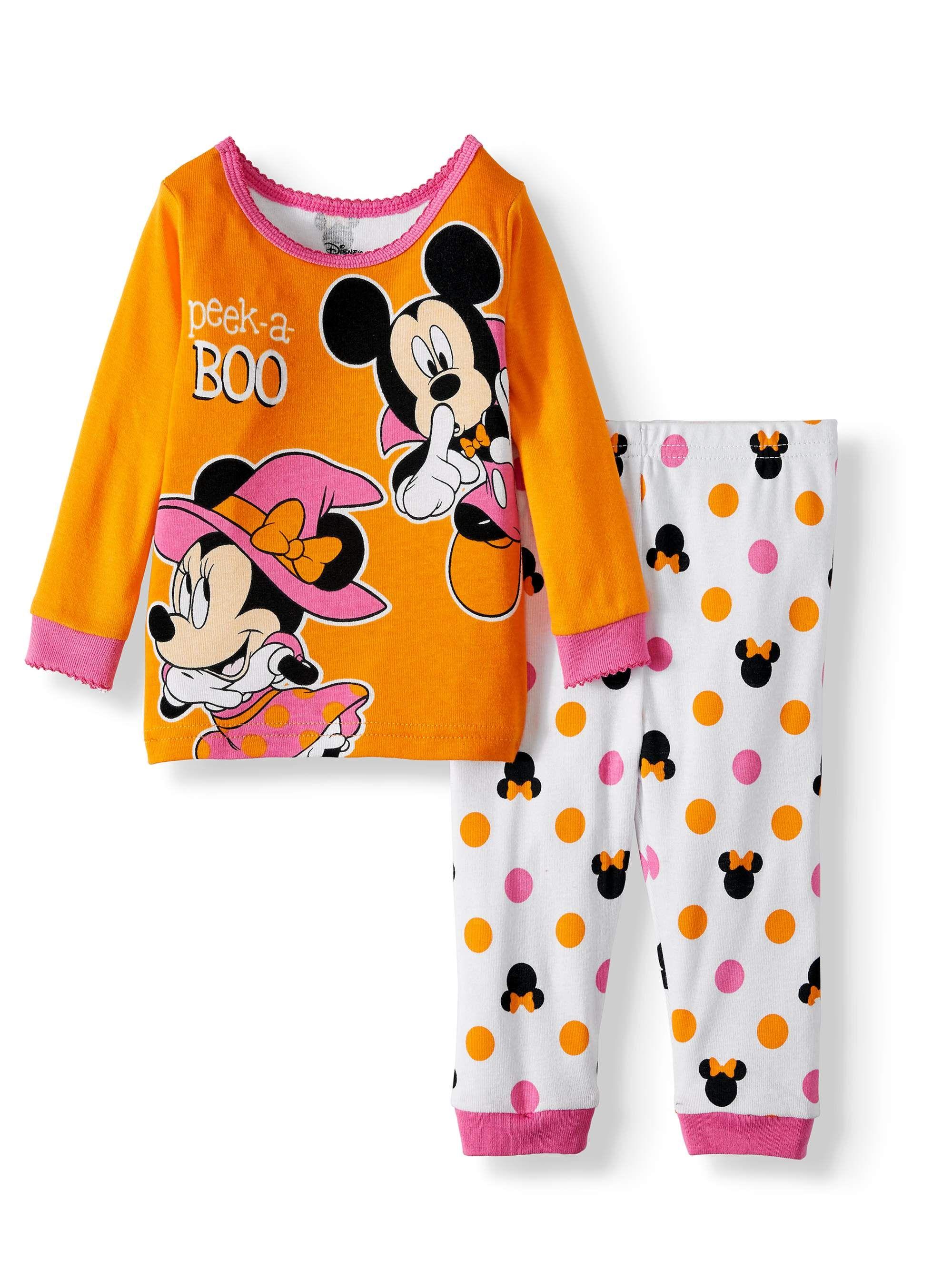 Minnie Mouse Baby-Girls Long Pajamas
