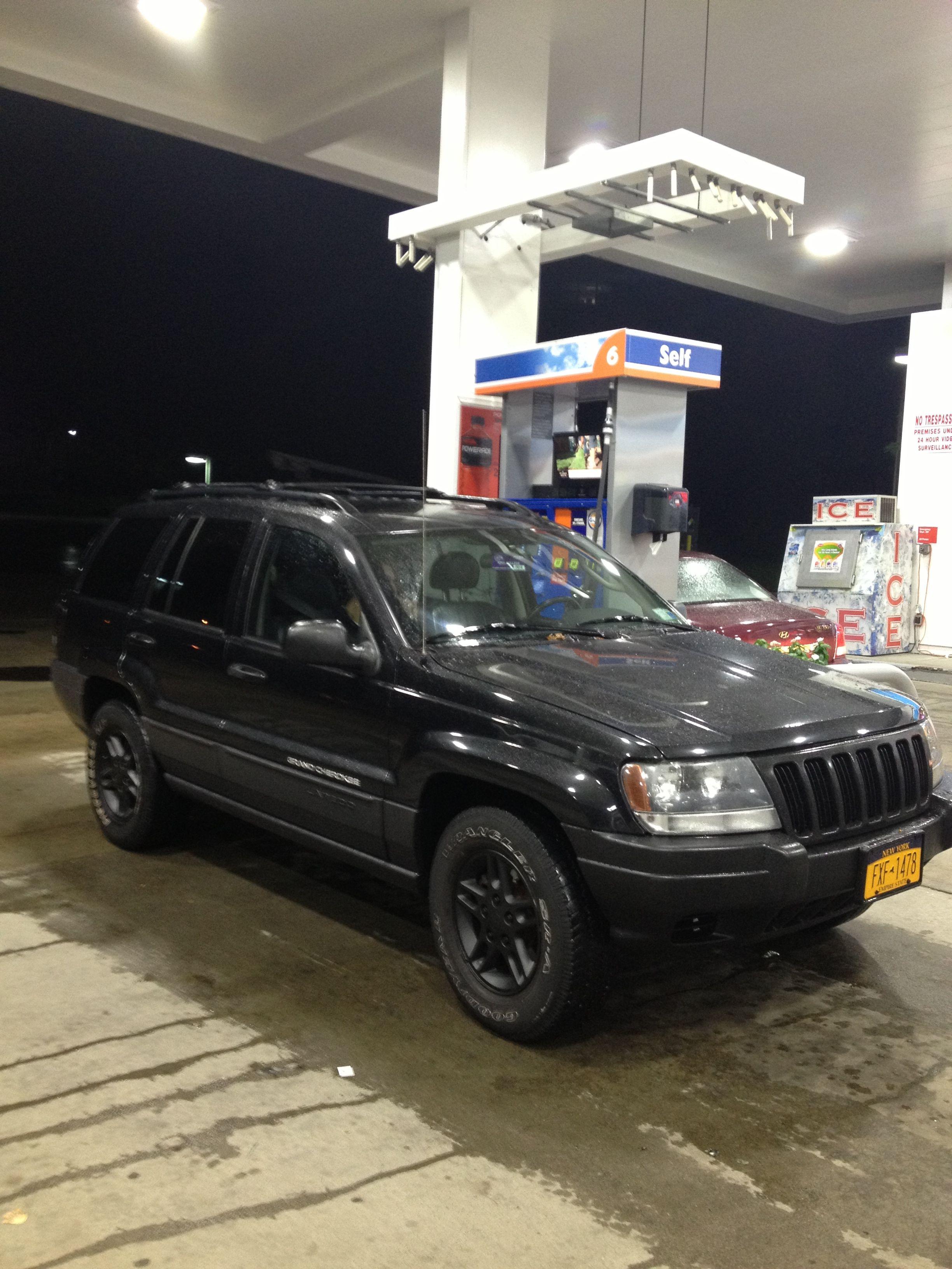 Blacked out jeep wj grand cherokee jeep wj jeep car