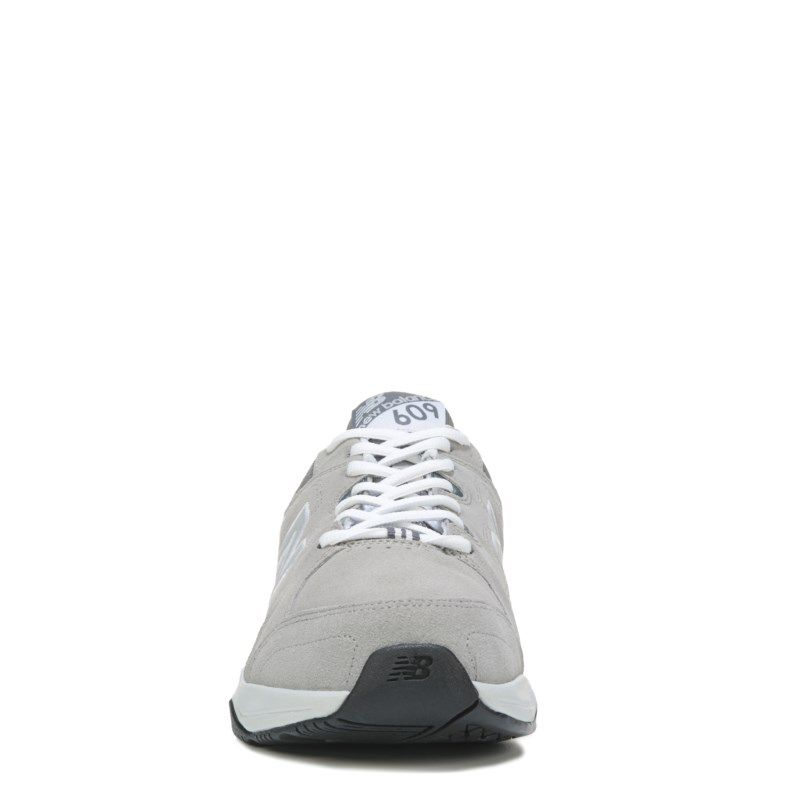 New Balance Men\u0027s 609 V3 Memory Sole X-Wide Sneakers (Light Grey)