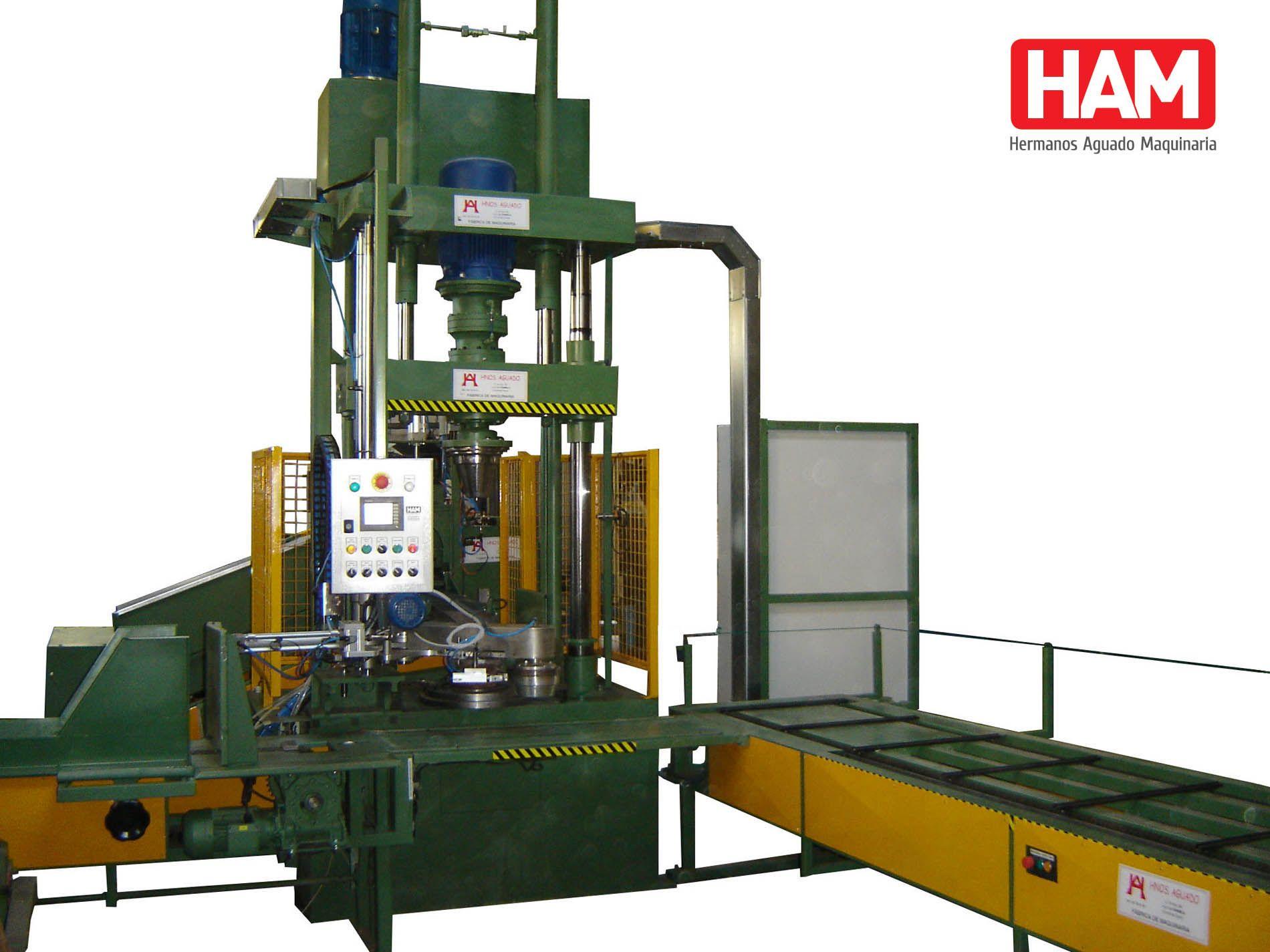 Maquinaria Hermanos Aguado – Máquinas para la Industria.