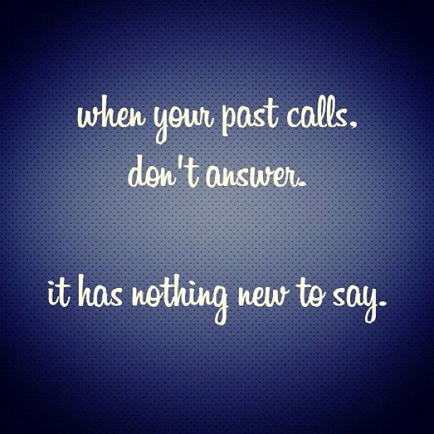 When your past calls...   #instagram #potsc