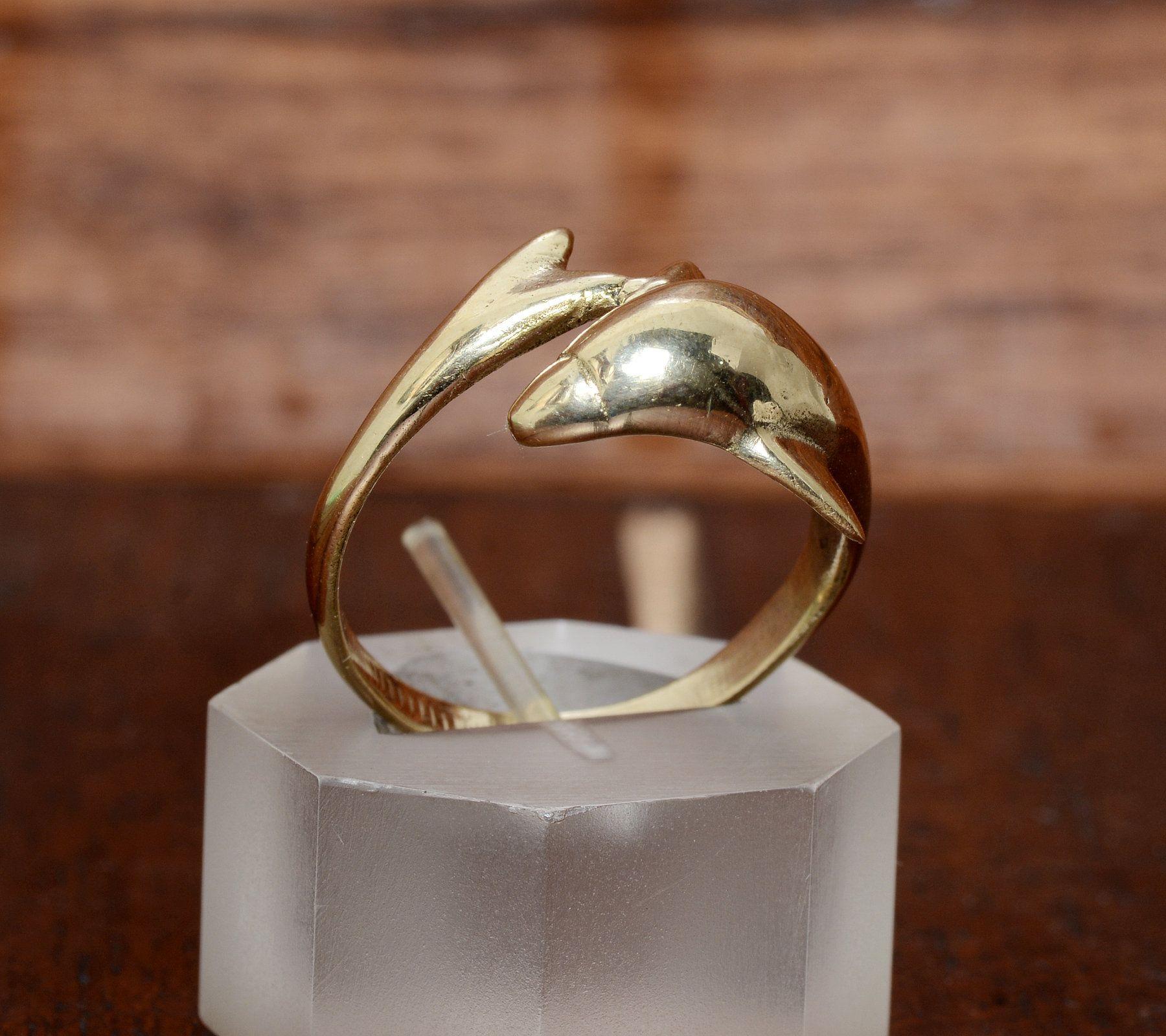 Brass Band #Boho Band #Handmade Band #Wedding Band #Vintage Band #Unique Band #Gift Band #Valentine Band  #Gift For Her Valentine Gift