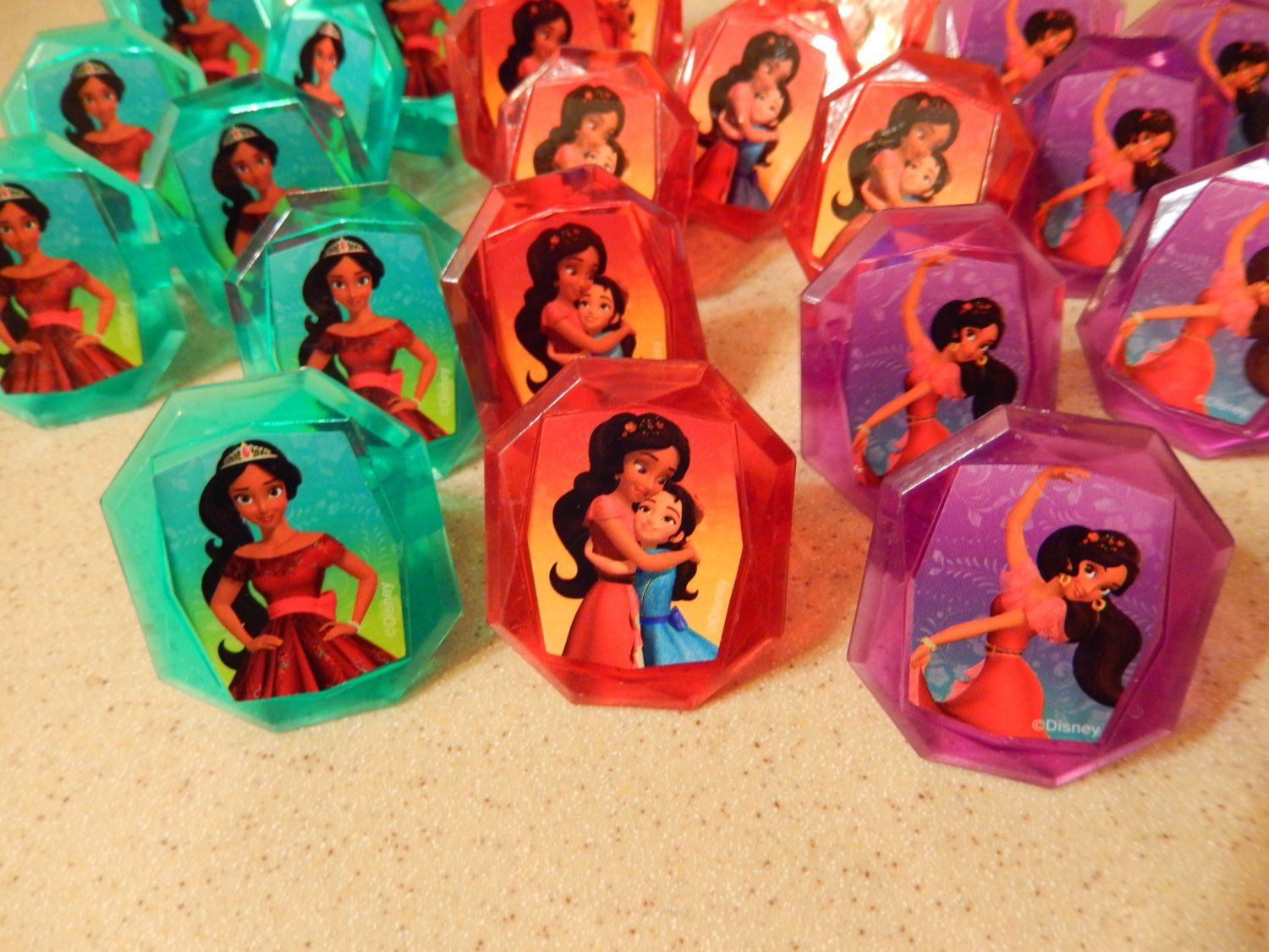 Decoration Stuff For Party 24 Elena Of Avalor Cupcake Cake Topper Rings Birthday Party