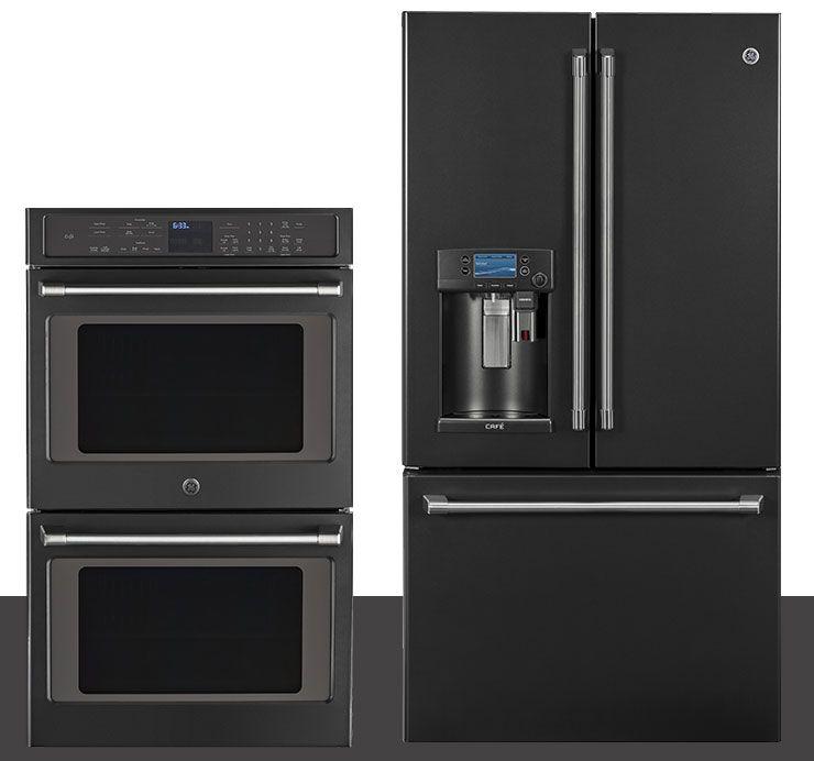 Ge Black Slate Appliances Resist Smudges Amp Fingerprints