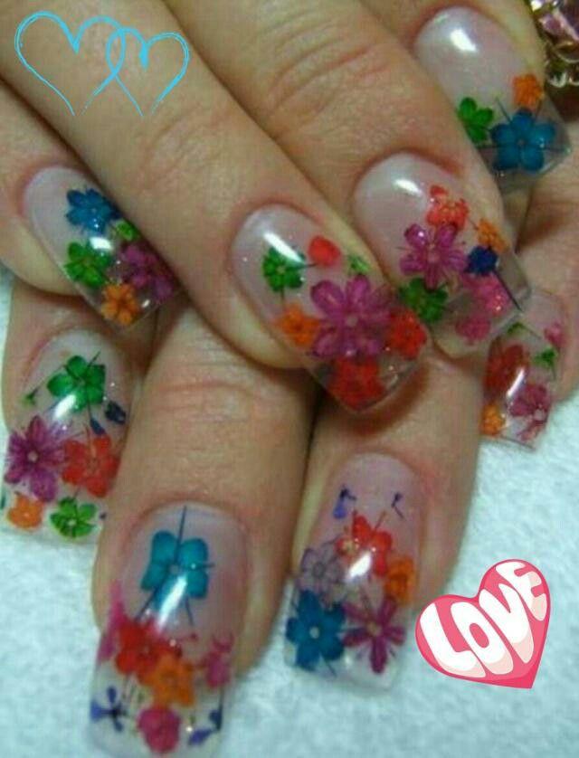 Spring Nails | Love-acrylic nails/designs | Pinterest ...