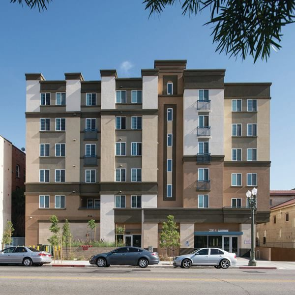 Mercy Housing California S Caroline Severance Manor In Los Angeles Is A 85 Unit Development Which Started Lease Up Affordable Housing Childcare Center Manor