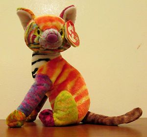 59c71e00cf5 RETIRED TY Beanie Baby Collection Kaleidoscope The Cat FREE SHIPPING