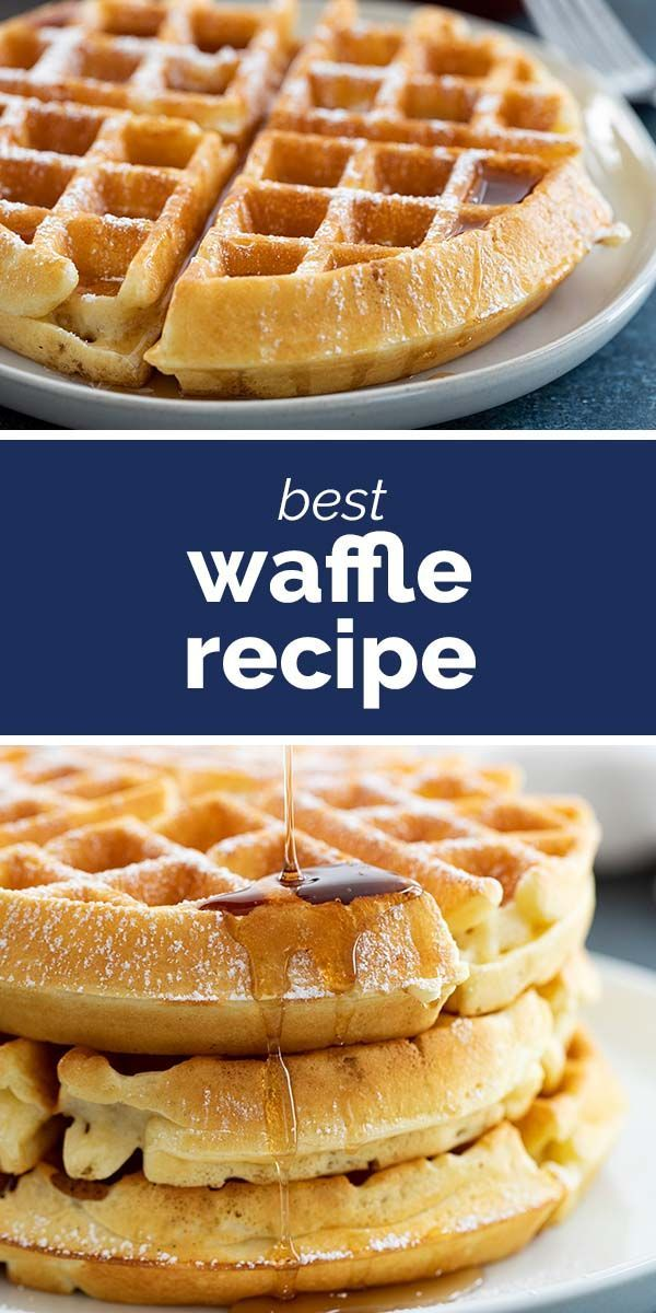 The Best Waffle Recipe