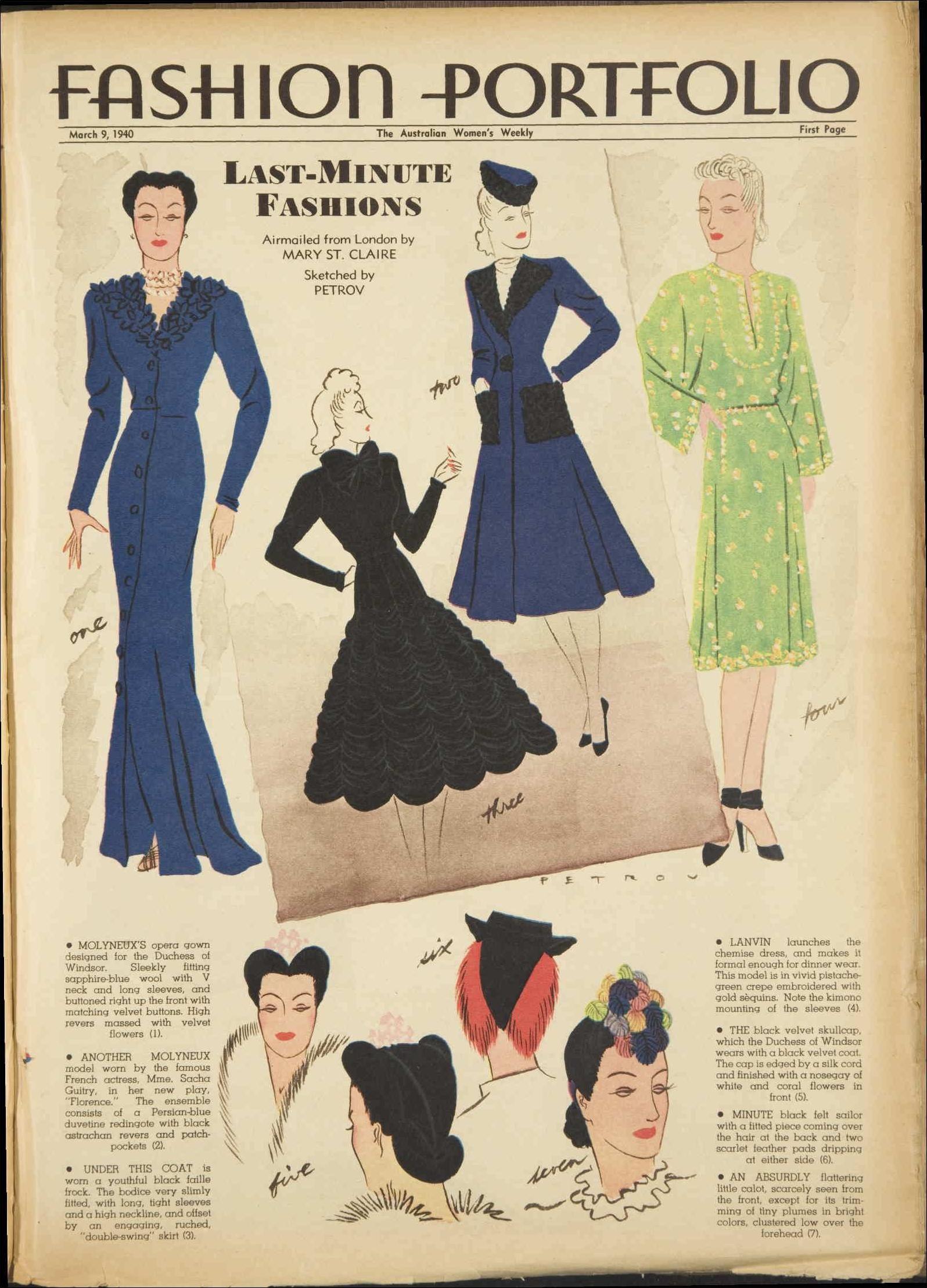 Issue: 9 Mar 1940 - The Australian Women's Week...