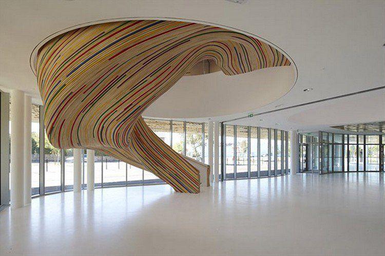 Idées escalier intérieur moderne mettez lennui de côté
