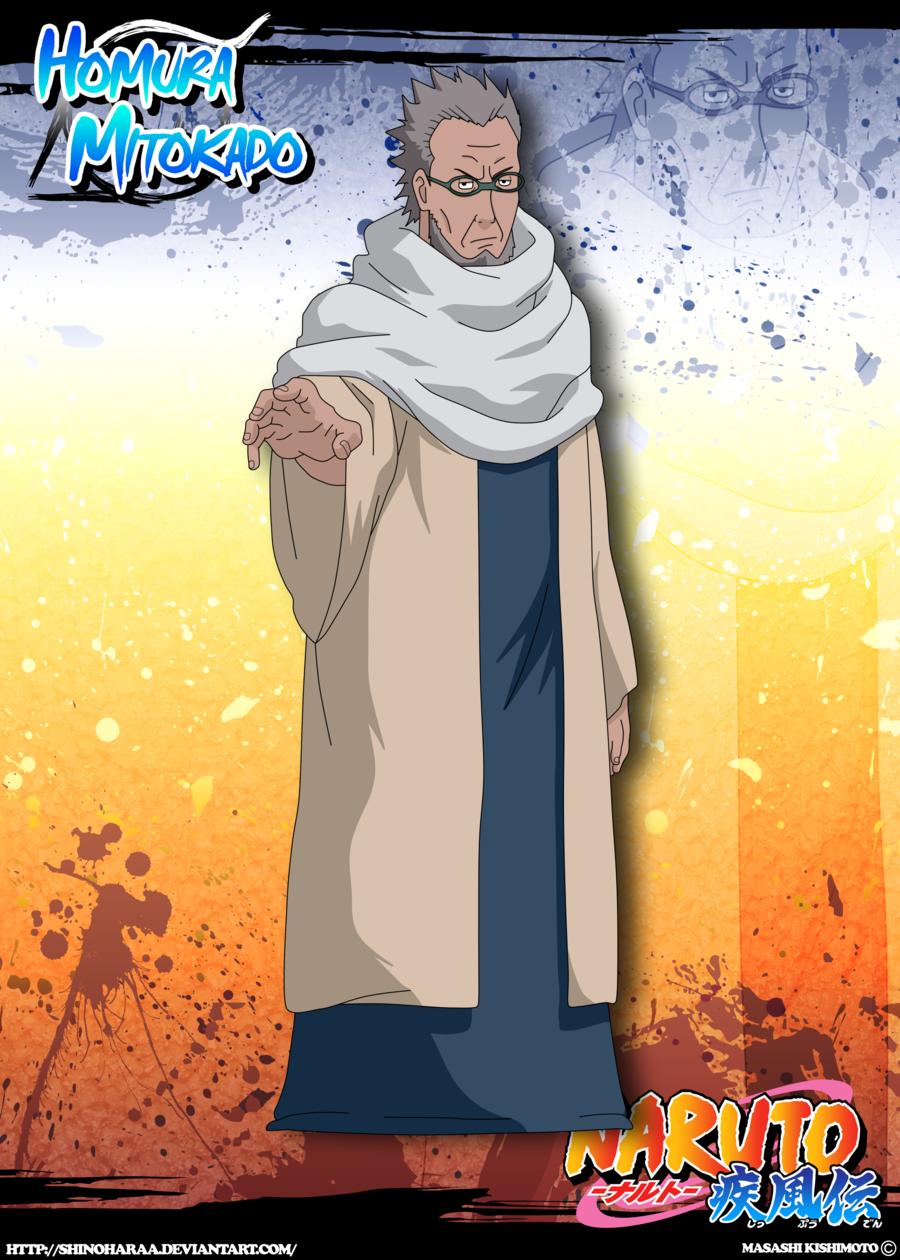 Homura Mitokado   Anime zodiac, Naruto, Deviantart