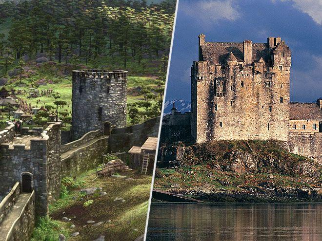 Resultado de imagen para Escocia, Eilean Donan disney