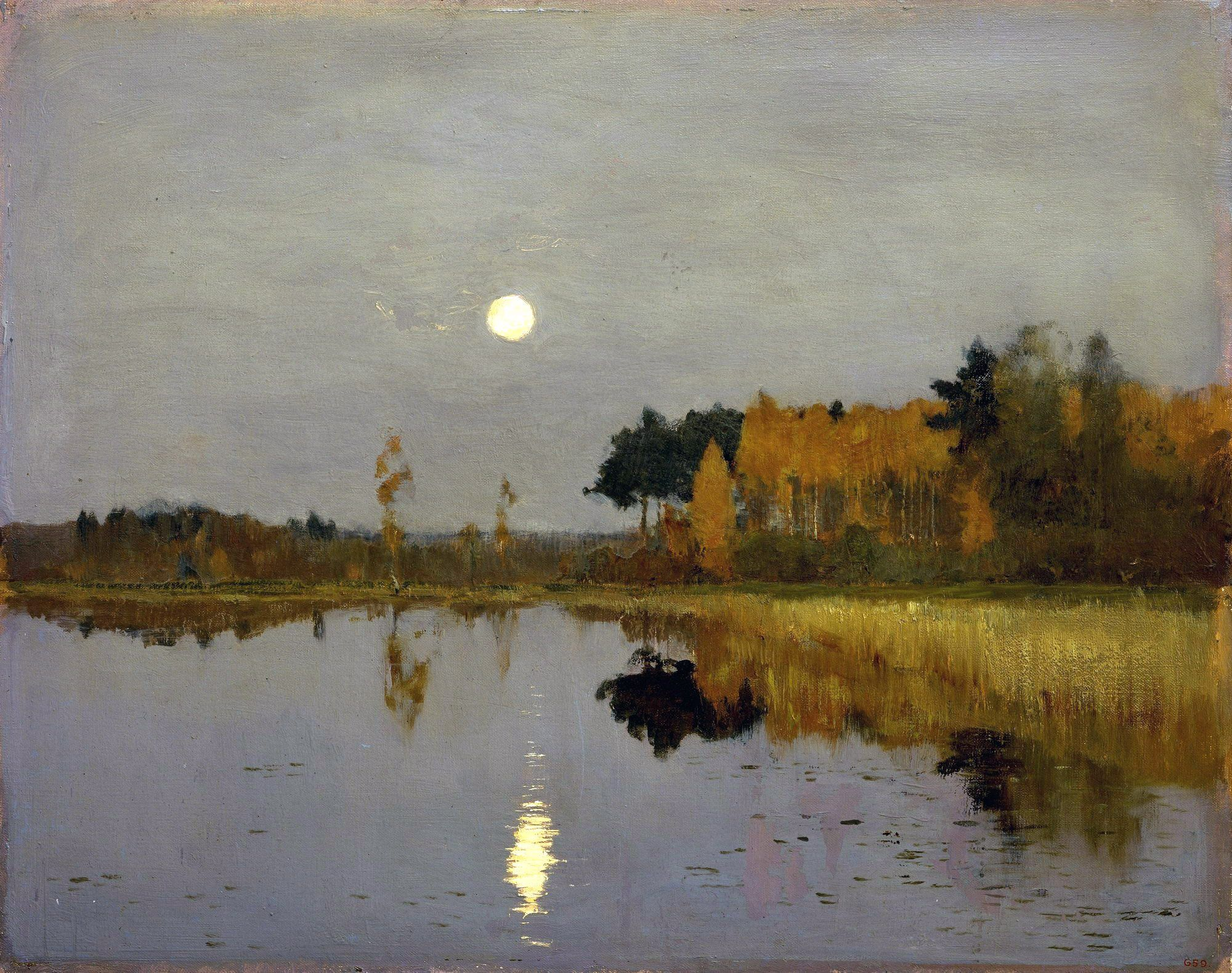 Picture Levitan Spring. High water or Edge, reminiscent of paradise 6