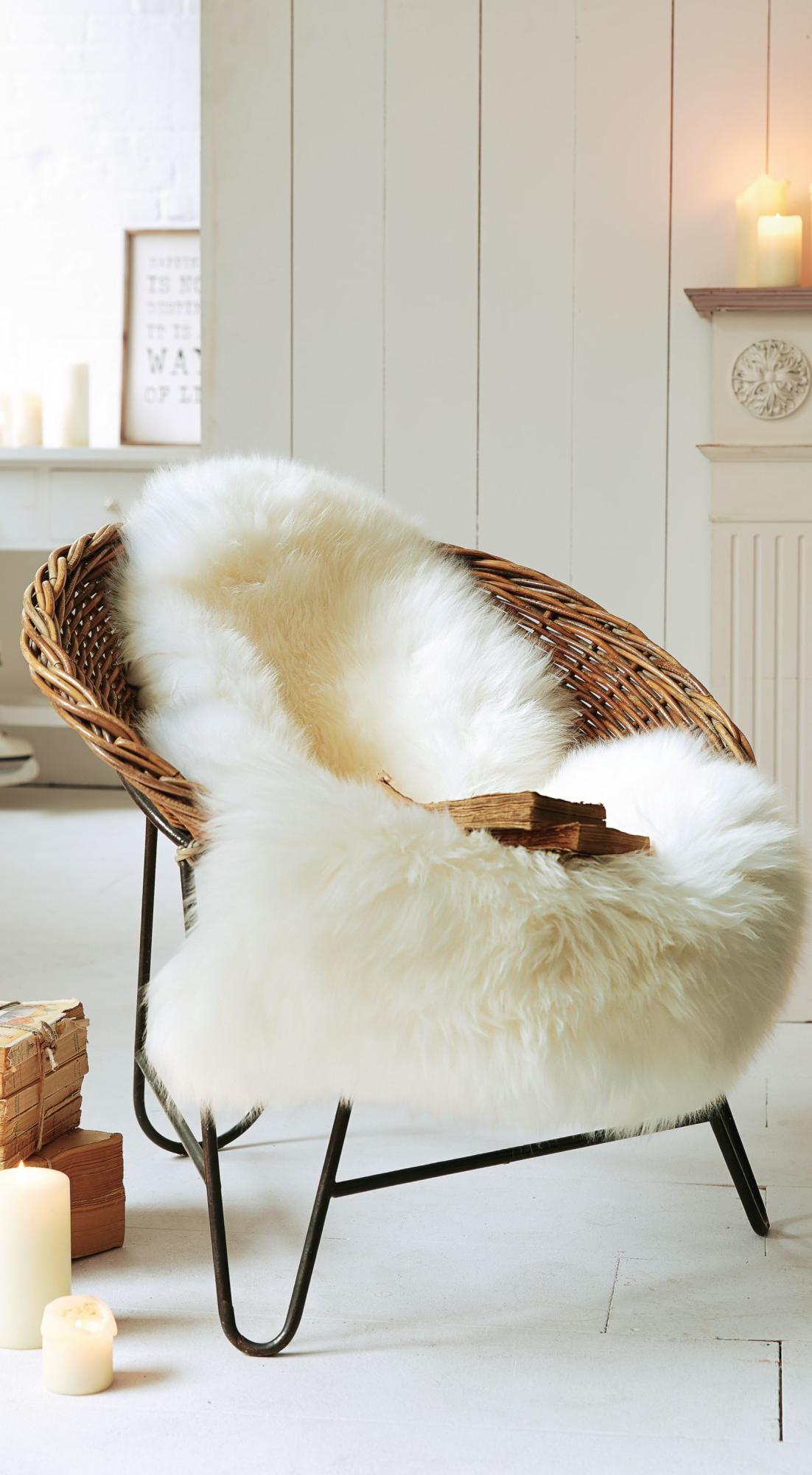 Fluffy Sheepskin Rug Home Faux Sheepskin Rug Fluffy