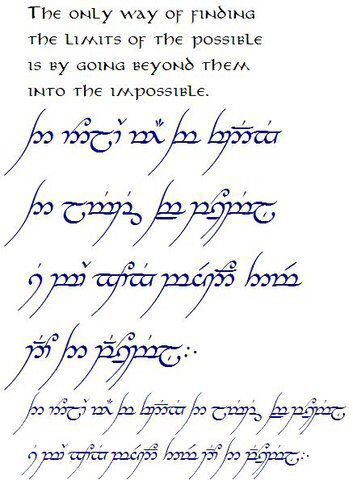 Tolkien With Images Sayings And Phrases Elvish Writing Words