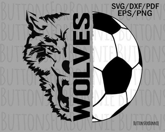 243f4805d Wolves soccer svg, wolves svg, soccer svg, cut file, sport svg ...