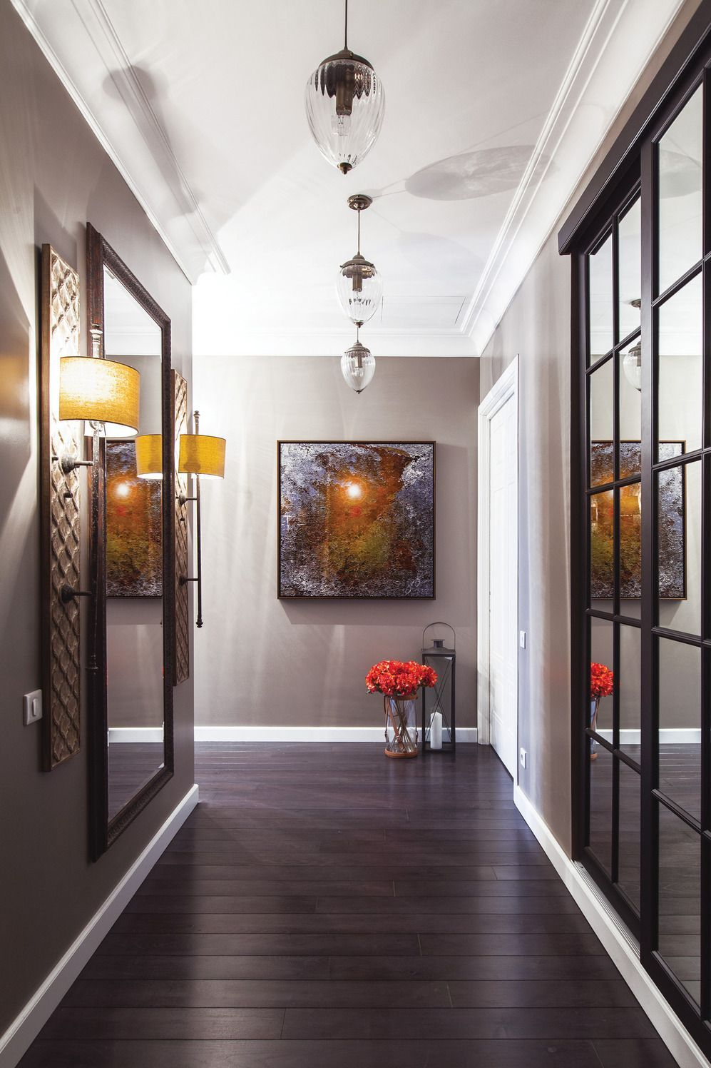 Modern Hallway Decoration Design Ideas  Idée déco couloir