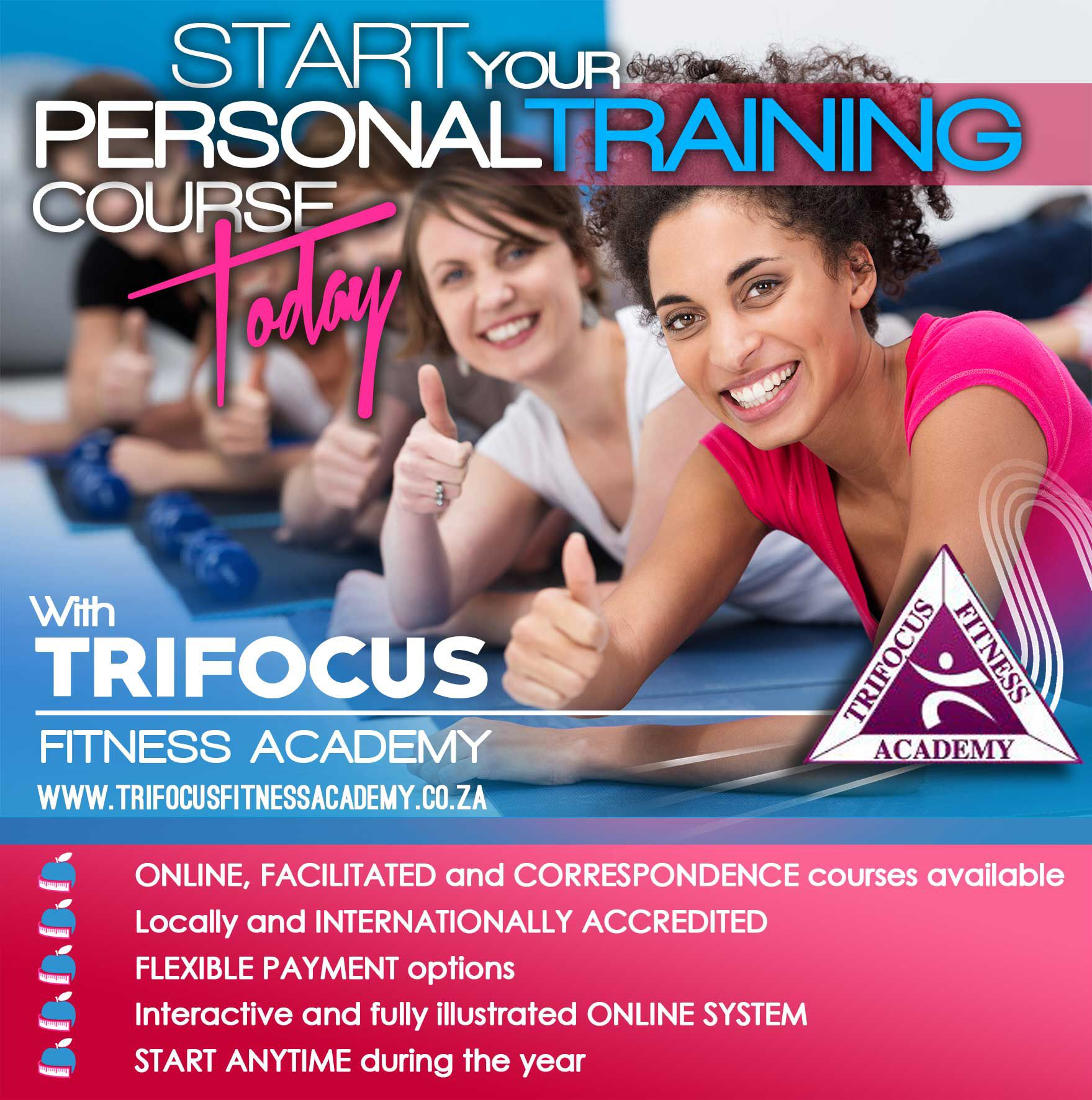 Personal Training Online Certification Trifocus Fitness Academys