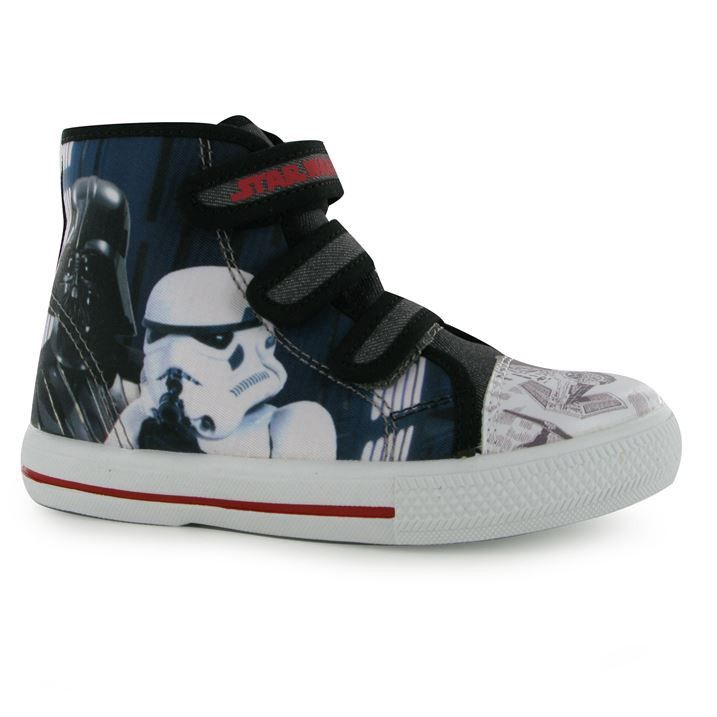 Boys Star Wars Hi Top Trainers