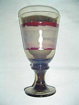 Sango Nova Brown Water Goblets by Libbey very hard to find glasses. MINT. & Sango Nova Brown Water Goblets by Libbey very hard to find glasses ...
