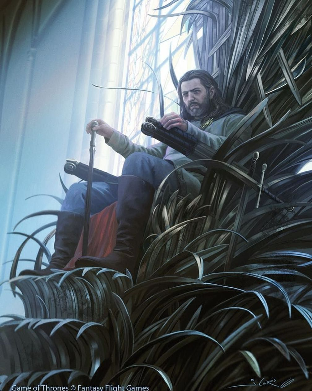 Eddard Stark In The Iron Throne. Surely My Last