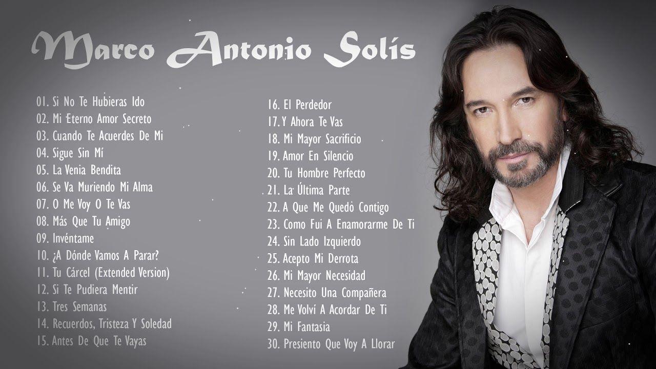 Marco Antonio Solis Antes De Que Te Vayas Live