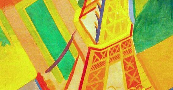Torre Eiffel (1926), Robert Delaunay | Cubismo | Pinterest | Robert Delaunay and Robert Ri'chard