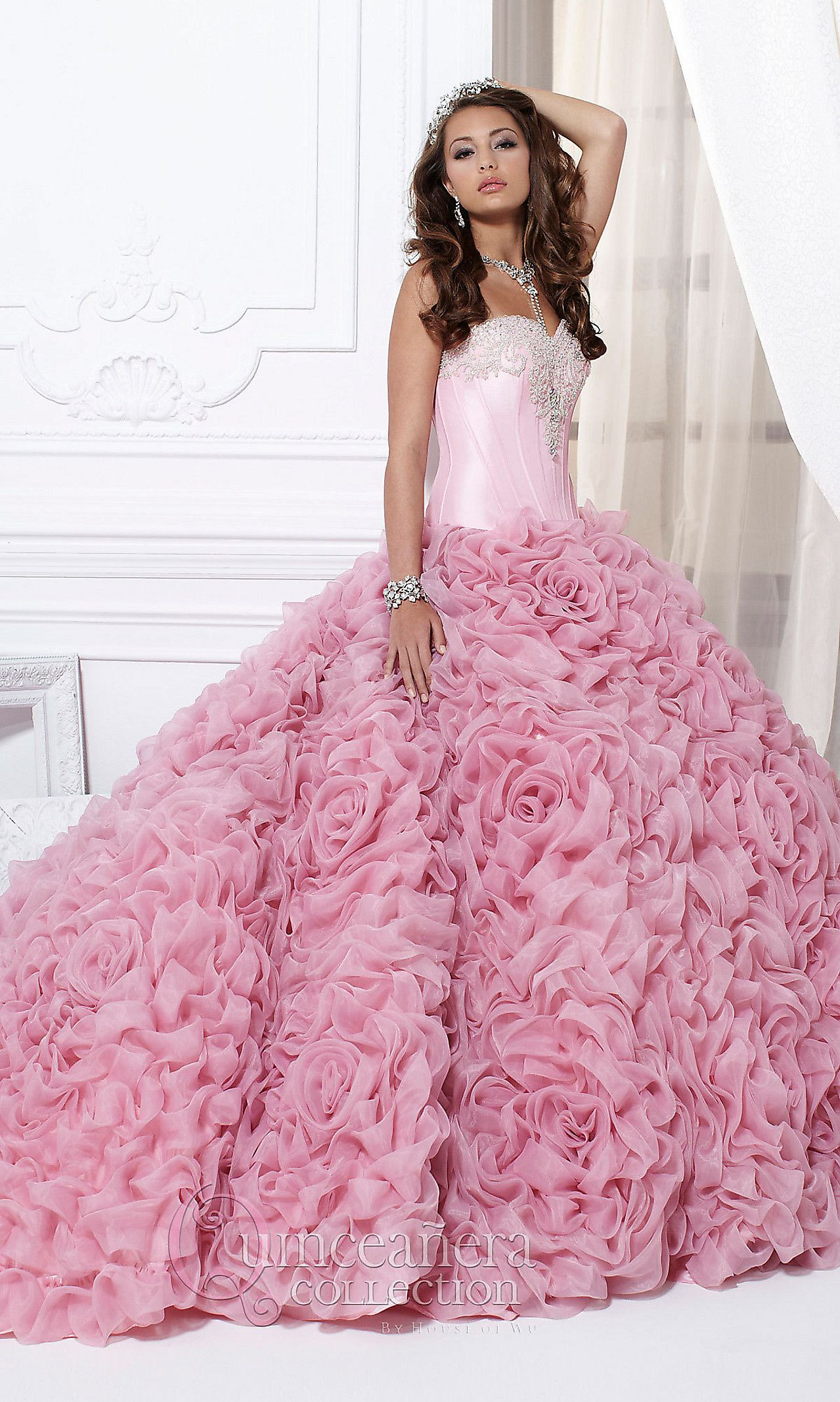Pin de michéle borde en rose | Pinterest | Modelos de vestido ...