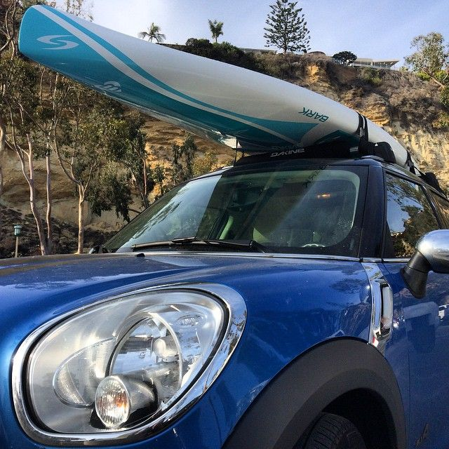 roof racks are a must on any mini cooper countryman that 39 s how you take your sup boards to the. Black Bedroom Furniture Sets. Home Design Ideas
