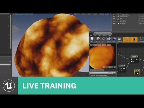Using Material Effects Live Training Unreal Engine Youtube