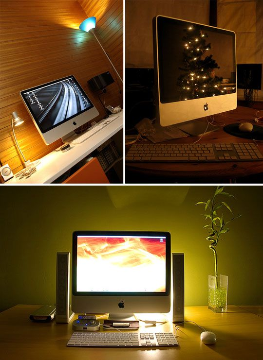 Beautiful Apple Imac Desk Setups Imac Desk Desk Setup