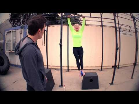 Proper form on a pull up can improve your running... it's true ...