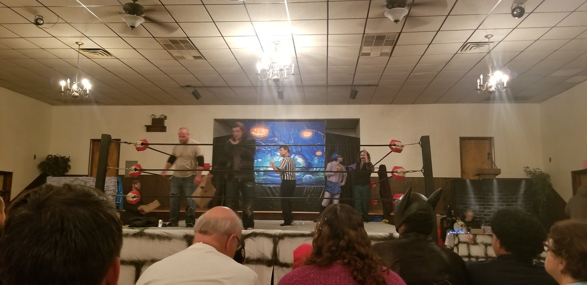 The Hollywood Hooligans Vs The Homeless Heroes United Wrestling Coalition Oct 13 2018 Heroes United The Unit Wrestling