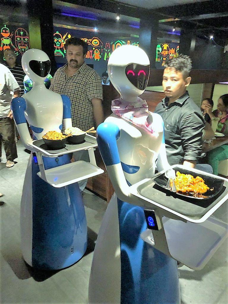 INDIA Robots, Go the Food Way Mom blog posts, India