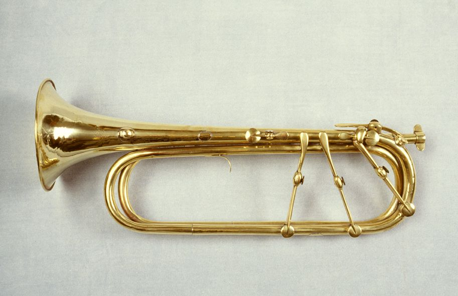 Keyed trumpet by Joseph Greenhill, London, at the National Music ...