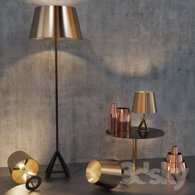 3d Models Floor Lamp Base Floor Light By Tom Dixon Table Lamp Tom Dixon Base Designed By Tom Dixon Floor Lamp Diy Floor Lamp Floor Lamp Bedroom