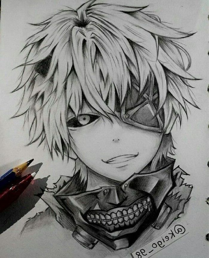 Photo of ▷ 1001 + ideas for drawing anime – tutorials + pictures – boy drawing, …