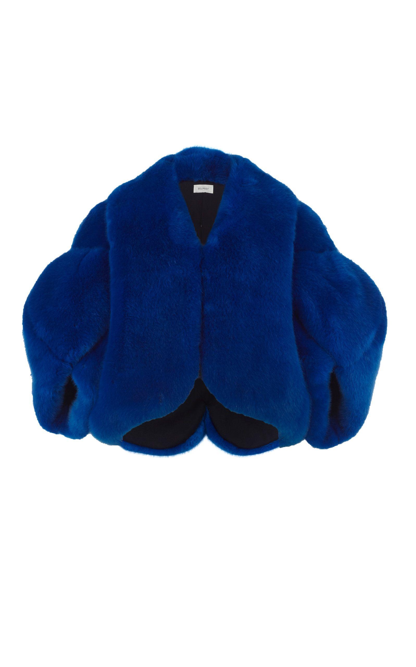 Faux fur jacket by Delpozo