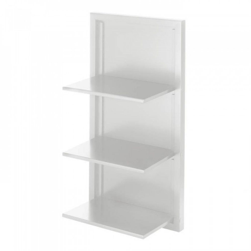 White Folding Wall Shelf Folding Walls Shelves Corner Wall Shelves