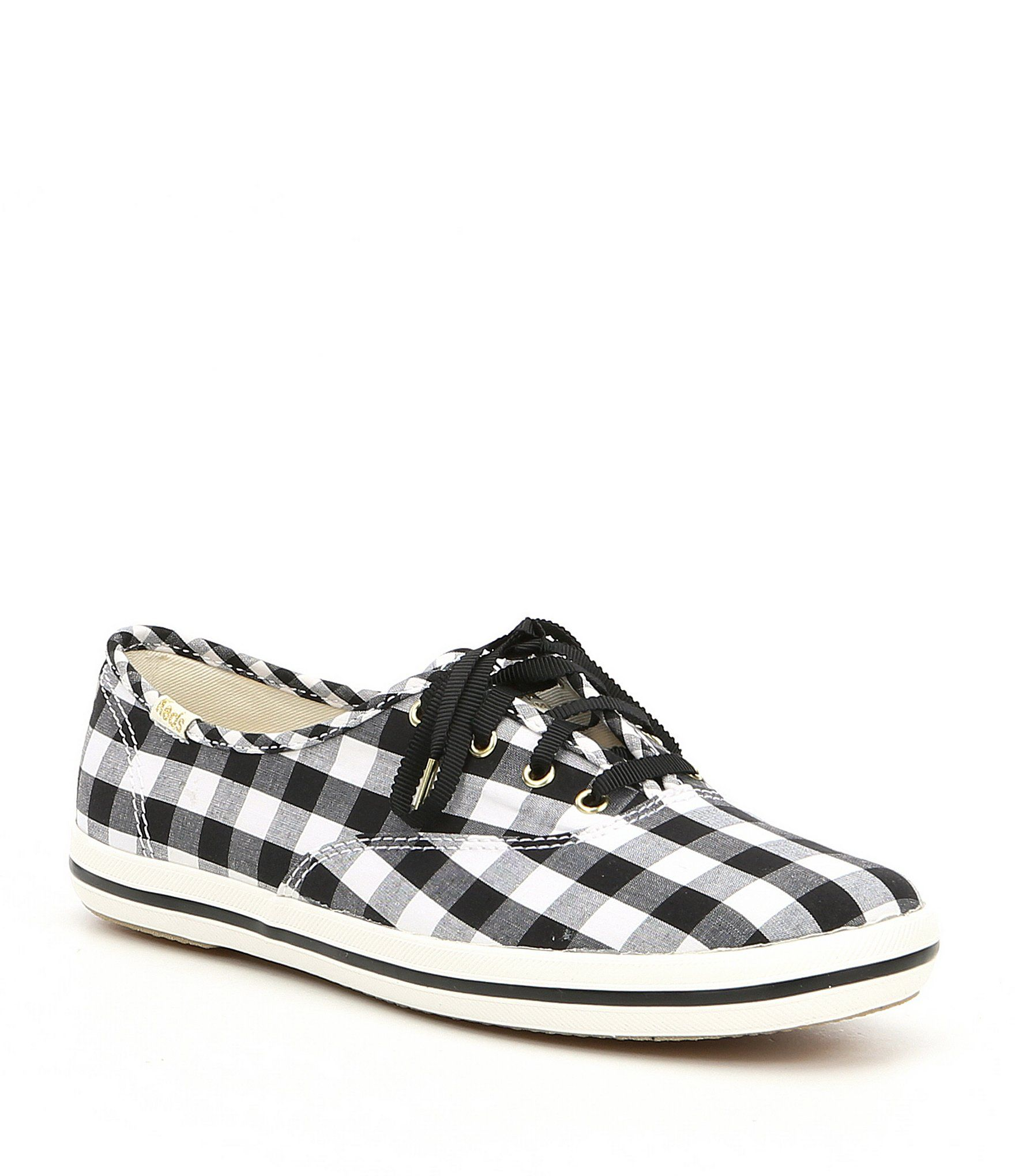 3992759aa9f keds x kate spade new york Champion Gingham Sneakers  Dillards ...
