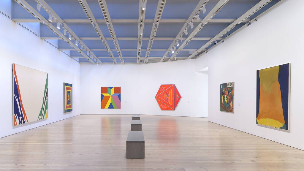 Current exhibits at the Whitney Museum of American Art in