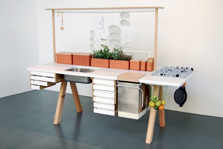 Cuisine Modulable 15 Modeles A Elements Independants Cuisine Modulable Mobilier De Salon Table Modulable