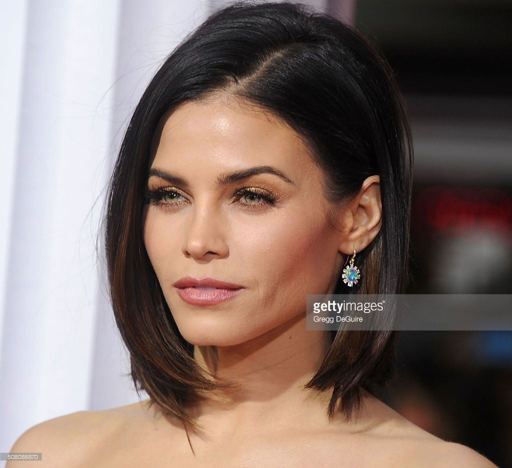 Actress Jenna Dewan Tatum arrives at the premiere of Universal Pictures' 'Hail, Caesar!' at Regency Village Theatre on February 1, 2016 in Westwood, California.
